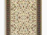 3 X 7 area Rugs Kashan Alabaster Black area Rug