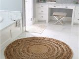 30 Inch Round Bath Rug the Round Jute Rug that Looks Good Everywhere the