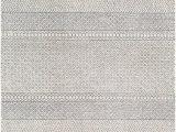 30 X 30 area Rug Surya Maroc Teal Charcoal Cream Wool area Rug 72 X 30