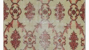 "30 X 30 area Rug Turkish Vintage area Rug 2 6"" X 5 9"" 30 In X 69 In"