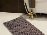 30 X 30 Bath Rug Buy 50 X 30 Grey Saffron Fabs Cotton and Microfiber