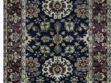 """36 X 36 area Rug E Of A Kind Hand Knotted Black Red 3 6"""" X 18 2"""" Runner area Rug"""