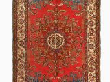 """36 X 36 area Rug E Of A Kind Verge Hand Knotted Red 1 3"""" X 3 6"""" area Rug"""