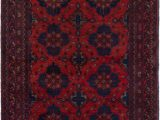 """36 X 48 area Rug E Of A Kind Kaler Hand Knotted 3 6"""" X 4 8"""" Wool Red area Rug"""