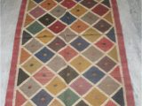36 X 60 area Rug Kilim Jute Rug Turkish Vintage Floor Mate area Rug Jute