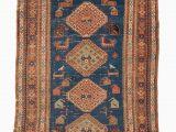 3ft X 4ft area Rug Caucasian Persian Antique Carpet