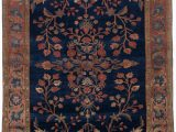 3ft X 4ft area Rug Manchester Kashan Central Persian 3ft 3in X 4ft 11in