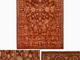 3ft X 5ft area Rug Silk Road Rust 3 Ft X 5 Ft area Rug
