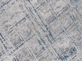 3ft X 5ft area Rug Slant Modern Abstract Gray Blue 3 Ft X 5 Ft area Rug