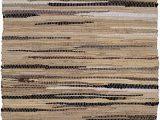"3×5 Bathroom Rugs Amazon Cotton Rag Rug 3×5 Feet 36""x60"" Multicolor Chindi Rug Hand Woven & Reversible for Living Room Kitchen Entryway Rug Linen"