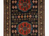 "4 by 5 area Rugs Caucasion 4 8"" X 6 5"" Handmade area Rug"