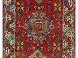 "4 by 5 area Rugs Turkish Vintage area Rug 4 5"" X 6 53 In X 72 In"