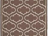 4 by 6 Foot area Rugs Dhurries Spencer Brown Ivory 4 Ft X 6 Ft area Rug