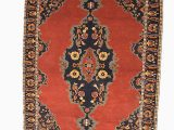 4 by 6 Foot area Rugs Vintage Medallion Red Rug 4 X 6 Ft
