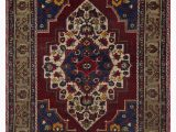 """4 by 7 area Rug Turkish Vintage area Rug 4 7"""" X 6 9"""" 55 In X 81 In"""