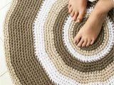 4 Foot Round Bathroom Rug Crochet Round Rug Pattern