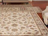 4 Piece area Rug Sets Florence isfahan Ivory