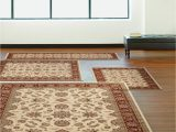 4 Piece area Rug Sets Km Home Florence Meshed 4 Pc Rug Set & Reviews Rugs