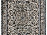 """4 X 10 area Rug E Of A Kind oriental Hand Knotted 6 9"""" X 10 4"""" Wool Blue area Rug"""