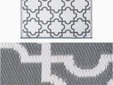 4 X 6 area Rugs with Rubber Backing Dii Moroccan Indoor Outdoor Lightweight Everyday Use 4 X