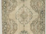 """48 X 48 area Rug E Of A Kind Bedelia Hand Knotted Runner 4 8"""" X 14 Wool Ivory area Rug"""