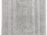 48 X 48 Bath Rug Hotel Collection Cotton Reversible Bath Rug 21″ X 33″ Mercury New
