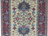 """48 X 66 area Rug E Of A Kind Afghan Hand Knotted 4 8"""" X 6 6"""" Wool Pink area Rug"""