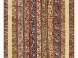 """48 X 66 area Rug E Of A Kind Denver Hand Knotted Cream Blue Red 4 8"""" X 6 6"""" Wool area Rug"""