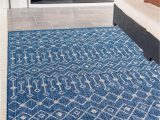 4×6 Blue Outdoor Rugs Blue 4 X 6 Outdoor Lattice Rug