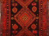 "5 7 area Rugs Under 50 Kazak Red Runner Hand Knotted 5 0"" X 9 7"" area Rug 100"