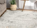 "5 7 area Rugs Under 50 Well Woven Alma Grey Abstract Vintage Floral Panel Design area Rug 5×7 5 3"" X 7 3"""
