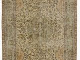 """5 by 5 area Rugs Turkish Vintage area Rug 5 5"""" X 8 10"""" 65 In X 106 In"""