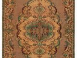 """5 by 5 area Rugs Turkish Vintage area Rug 5 5"""" X 9 4"""" 65 In X 112 In"""