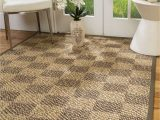 5 by 7 area Rugs at Walmart Natural area Rugs Parson Custom Sisal Rug 5 X 7 Fossil Border