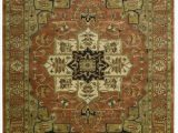 """5 by 9 area Rugs Nourison Jaipur Brick Rectangle area Rug 3 Feet 9 Inches by 5 Feet 9 Inches 3 9"""" X 5 9"""""""
