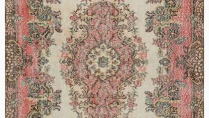"5 by 9 area Rugs Turkish Vintage area Rug 5 9"" X 9 8"" 69 In X 116 In"