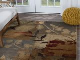 """5 X 7 area Rugs Under 100 Details About Multi Color Floral Transitional area Rug Leaves 5×7 Carpet Actual 5 3"""" X 7 3"""""""