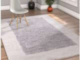 5 X 7 solid Color area Rugs Porta Border Modern Geometric Shag 5×7 5 X 7 2 area Rug Greybeige Plush Easy Care Thick soft Plush Living Room