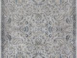 5ft by 7ft area Rug Homeroots 5 Ft 3 In X 7 Ft 7 In Viscose Silver