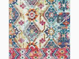 5ft X 8ft area Rug Mana Floral Ruf 5ft X 8ft Multi