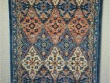 5×7 area Rugs at Target Threshold area Rug 5 X 7 Wool Tar Loop Hand Tufted New Blue Goodweave