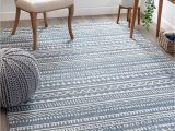 "5×7 area Rugs Near Me Well Woven Weston Blue Tribal Diamonda Striped Pattern area Rug 5×7 5 3"" X 7 3"""