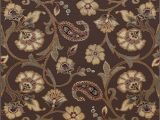 5×7 Rubber Backed area Rug Universal Rugs Brown 5×7 area Rug 5 Feet by 7 Feet