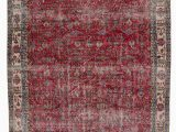 """6 by 10 area Rugs Turkish Vintage area Rug 6 6"""" X 10 2"""" 78 In X 122 In"""
