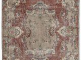"""6 by 10 area Rugs Turkish Vintage area Rug 6 6"""" X 10 3"""" 78 In X 123 In"""