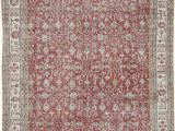 """6 by 10 area Rugs Vintage Turkish Hand Knotted area Rug 6 8"""" X 10 8"""" 80"""