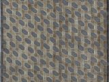 """6 X 5 area Rug Hand Knotted Blue 5 6"""" X 7 8"""" Wool area Rug"""