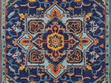 6 X 9 Navy Blue area Rug Momeni Ibiza Wool area Rug 6 X 9 Navy