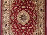 60 X 60 area Rug Carpeto area Rug oriental Traditional Medallion Brown Carpet 2 X 3 3 Ft 60 X 100 Cm iskander Collection