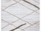 60 X 80 area Rug A2z Salvador 9957 Fresh Fashion Striped White Grey Kitchen soft Small area Rug Tapis Carpet